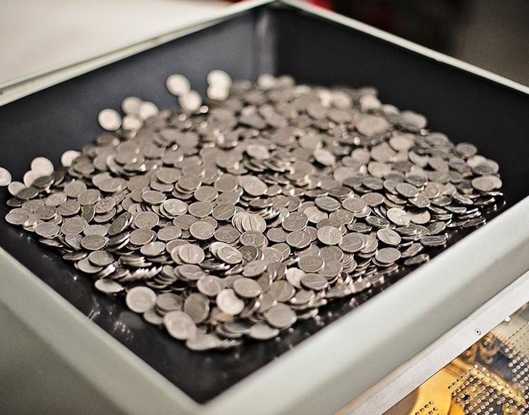 Model 360 Coin Chute