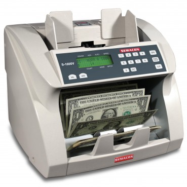 Model S-1600V Currency Value Counter